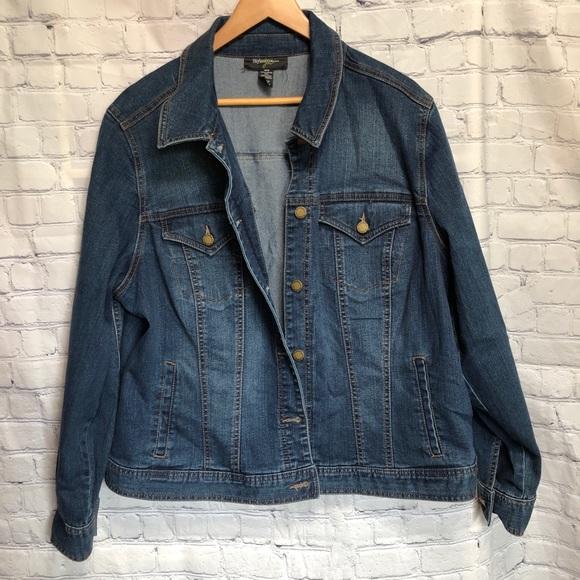 Style & Co Jackets & Blazers - Style & Co Woman Jean jacket